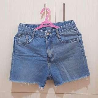 High waist short