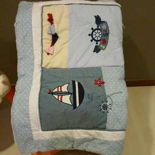 Bridgette & Co. Quilt Blanket for Baby Cot