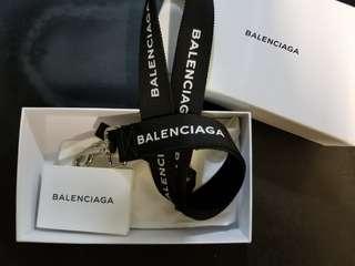 Balenciaga Logo Key Lanyard