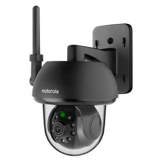 Motorola FOCUS73 is a remote Wi-Fi outdoor camera that turns any compatible internet enabled device into a fully functional video monitor. Download the free Hubble App and enjoy remote HD (720p).
