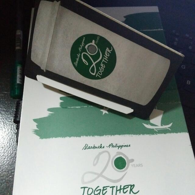 2018 Starbucks Planner