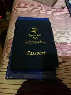 Sydney 2000 olympic 2000悉尼奧運passport紀念章