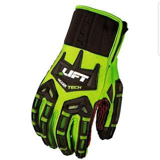 LIFT Safety Rigger Tech Gloves (Size Small)