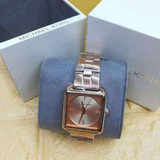 Authentic MK square watch