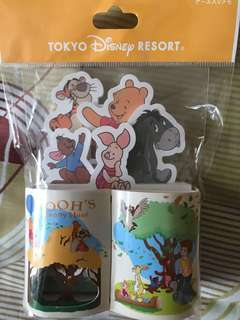 Disney Pooh and friend note pads