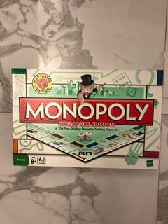 Monopoly 大富翁 Singapore version