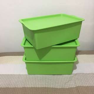 Stackable Plastic Containers/ Storage Box