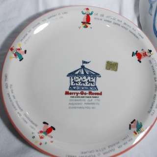 Merry Go Round Big Wall Plate