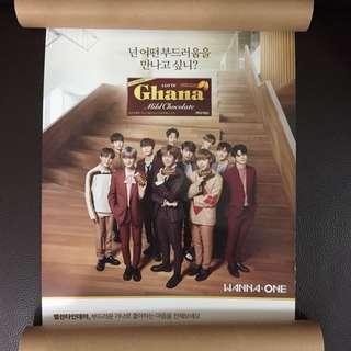 Wanna One Chana 新版poster