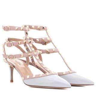 Valentino Garavani Rockstud patent leather sandals