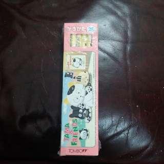 sanrio貓狗寵物Tame & Friends 日本絕版鉛筆1盒12支