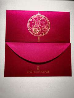 Hour Glass red packet