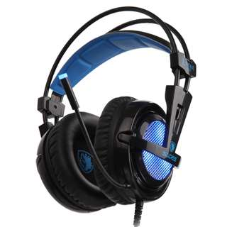 SADES Locust Plus Virtual 7.1 Gaming Headphone with mic