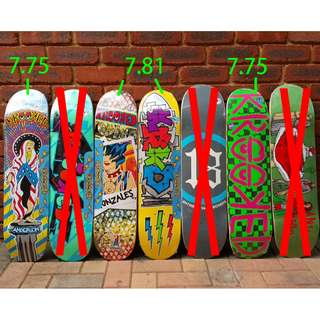 Krooked Skateboarding deck