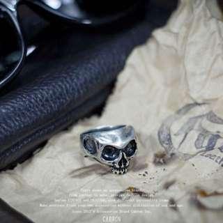 🚚 Cabron 骷顱戒指 分尺寸