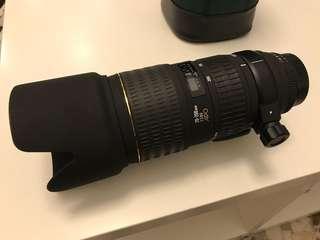 Sigma APO 70-200mm F2.8 EX for Nikon