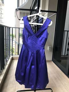 Warehouse Blue Cocktail Dress *UK8*
