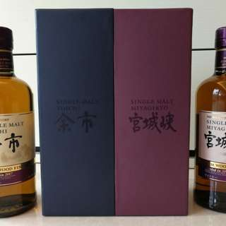 Nikka's 2017 limited editions ; Yoichi and Miyagikyo Rum Wood Finish (余市, 宮城峽)