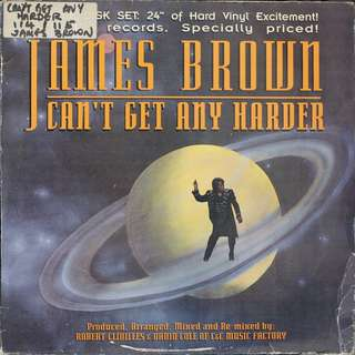 james brown, contains 2 Vinyl LPs, used, 12-inch original pressing