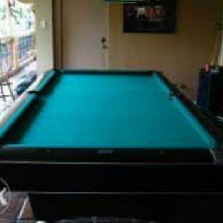 Billiard tables made to order