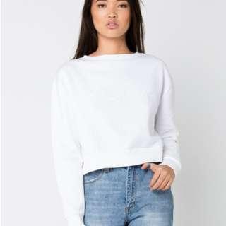 Calvin Klein white jumper