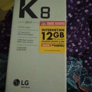 LG k8 2017 fullset