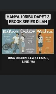 Ebook series Dilan