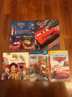 Disney Cars/Toy Story storybooks