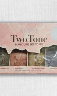 BNIP OPI Nail Polish Set of 4