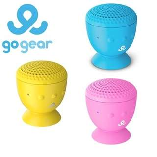 GoGear GPS2500 Splash n Dash Waterproof Portable Bluetooth Speakers