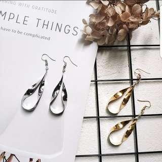 Amabel Twistered Teardrop Earrings