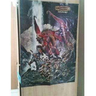 RPG D&D Dungeon and Dragon Poster