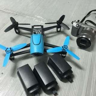 Parrot bebop drone .+ sony nex 5r