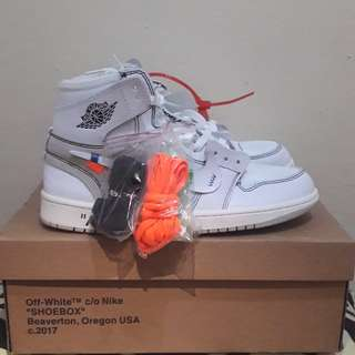 Nike Air Jordan 1 Retro White X Off White