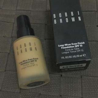 Bobbi brown long wear even finish foundation