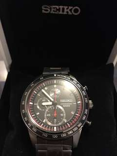 SEIKO SNDD89 P1 Men black watch