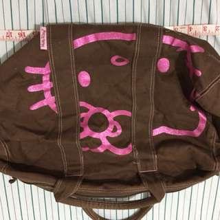 Authentic Hello Kitty barrel bag