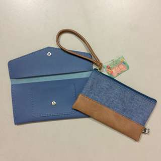 Bundle deal! Two brand new pouches ♥