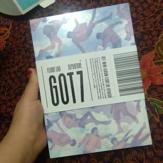 Got7 flight log departure blue serenity