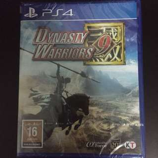 PS4 Dynasty Warriors 9 (New)