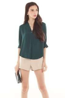 Interlock Shirt in Emerald