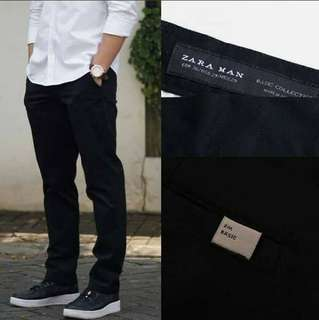 Chino Pants Zara Trousers Slim Fit