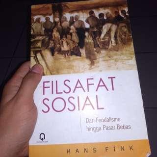 Buku Filsafat sosial