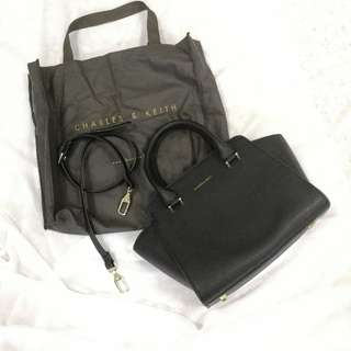 Charles & Keith Top Handle Handbag