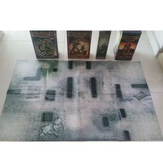 D&D Miniatures RPG lost temple map game