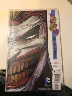 DC Batman Detective Comics #15 Death is the Family Cover
