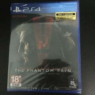 PS4 Metal Gear Solid V: The Phantom Pain (New)