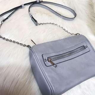 Forever21 gray sling bag