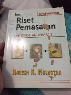 Buku riset pemasaran