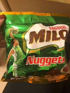 Milo nuggets from Thailand